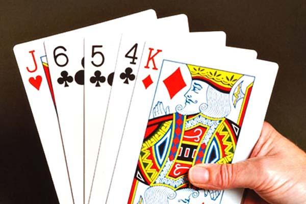Speelkaartenwaaier