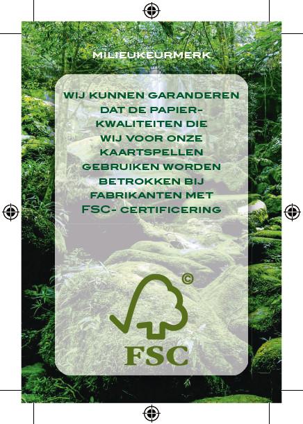 speelkaarten karton FSC keurmerk