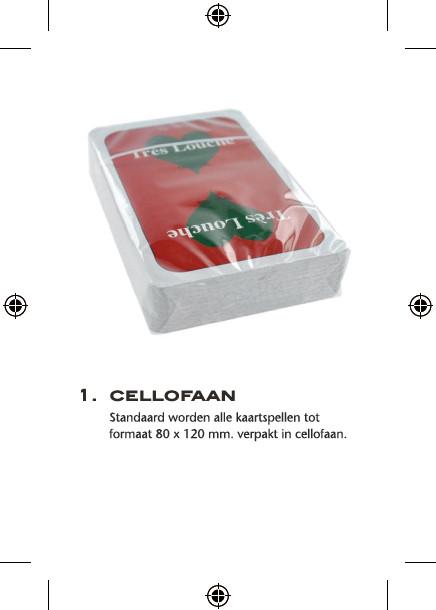 cellofaan verpakking speelkaarten