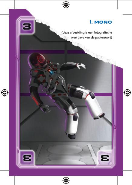 mono papier speelkaarten