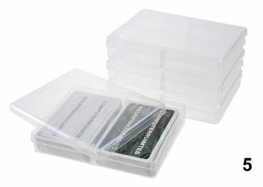 Plastic duo doosje speelkaarten roem roem speelkaarten for Plastic doosjes