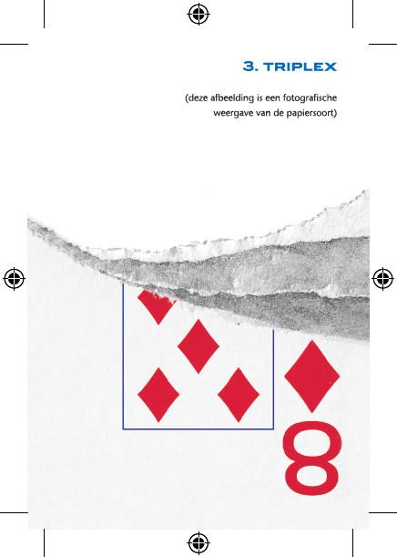 triplex papier speelkaarten