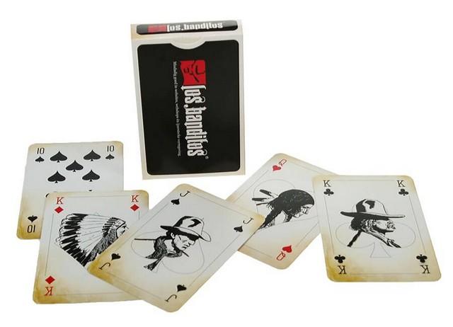 voorbeeld speelkaarten Los Banditos