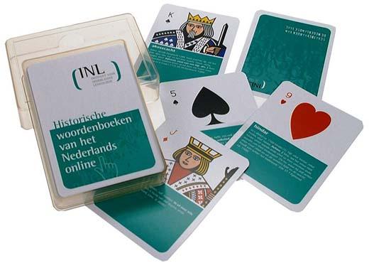 Speelkaarten bedrukt met eigen ontwerp