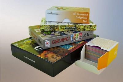 Overzicht verpakkingsopties speelkaarten en kaartspellen
