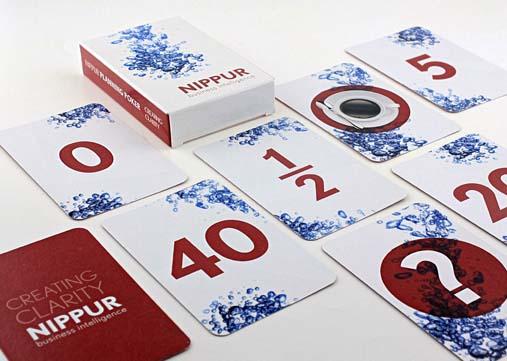 Planning poker kaartspel Nippur